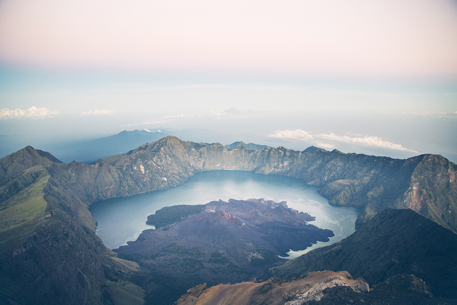 Summiting-Rinjani