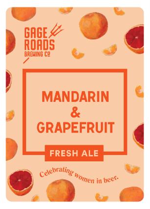 Mandarin and Grapefruit Fresh Ale (March 2020)