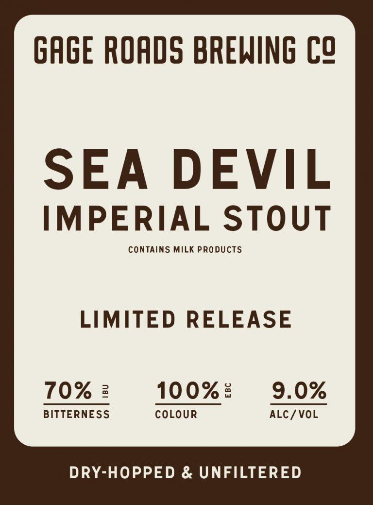 Sea Devil Imperial Stout (2017)